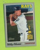 2019 Topps Chrome - Willy Adames (#THC-211)  Tampa Bay Rays