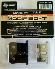 Pro-Mate One Hittaz Deep Tooth Modified Blade Fits Andis T-Outliner GTX 0-Gapped