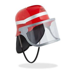 Feuerwehrhelm Kinder rot, Feuerwehrmann Helm, Kinderfeuerwehrhelm, Feuerwehr Hut