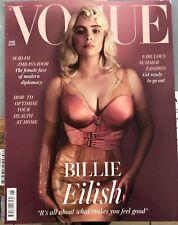 VOGUE UK (BRITISH)MAG-JUNE 2021-FABULOUS SUMMER FASHION-BILLIE EILISH-IN STOCK