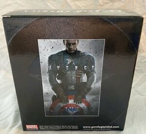 SDCC 2011 Gentle Giant Excl: Marvel - Captain America First Avenger Mini Bust