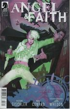 Angel & Faith #3 comic book season 10 Tv show series Joss Whedon Buffy