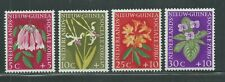 Netherlands New Guinea Scott # B19-B22 MH Flowers