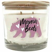 Scentsational Natural Soy Wax 3 Wick 26oz Sunshine Tulips Candle - Mama Bear