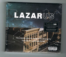 ♫ LAZARUS - 19 CAST RECORDINGS OF DAVID BOWIE'S MUSIC - 2 CD SET - NEUF NEW ♫