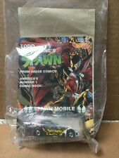 Hot Wheels Todd McFarlane Spawn Mobile MOMC Signed by Al Simmons!