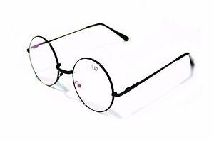 Medium Round Reading Glasses With Anti Reflective Coating Unisex Reader