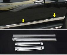 Chrome Side door Body molding trim For TOYOTA FJ150 Prado 10 2011 2012 2013 2014