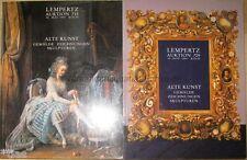 Lempertz Köln 2 Auktionskataloge Alte Kunst Gemälde Zeichnungen Skulpturen 1994