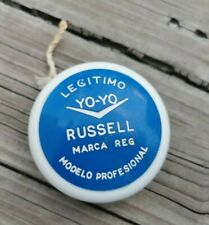 VINTAGE 1970s AUTHENTIC RARE BLUE COLOR GENUINE YO-YO RUSSELL BY CIPSA MEXICO