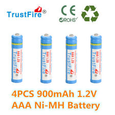TrustFire AA 900mAh 1.2 V Ni-MH rechargeable battery for MP3 Toys Camera 4 PCS