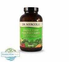 Naturbelassene Multivitaminpräparat Plus lebenswichtigen Mineralien   Dr. Mercola   240 Tabletten
