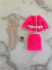 Vintage Barbie Clothes Snug Fuzz # 1813