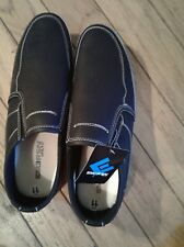 NWT men em3rsn casual shoes black loafer oxford white bottom  trendy size 11 nwo