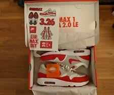 Nike Air Max 1 Ultra 2.0 OG University Red 908091 100 Size 8