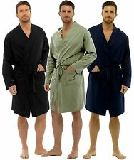 RRP £24.99 TOM FRANKS MENS LIGHTWEIGHT LOUNGEWEAR JERSEY WRAP DRESSING GOWN