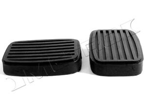Clutch and Brake Pedal Pads Fits: 1932-1962 Pontiac, Buick, Oldsmobile and more