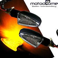 LED BLINKER MINIBLINKER WEISS ARROW MOTORRAD QUAD E-GEPRÜFT ROBUST TRANSPARENT