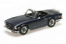 Triumph TR6 1973 dunkelblau 1:18 Minichamps