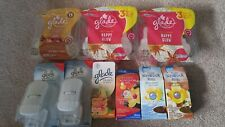 Glade Plugins Scented Oil Air Freshener 12 Refills & 2 Warmers