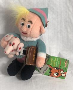 Hermie w/ Pink Elephant Dentist Stuffins Bean Bag Plush Rudolph Misfit Toys Tags