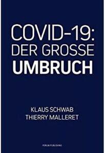 Klaus Schwab DER GROSSE UMBRUCH the Great Reset Buch Deutsch CVID 19 Taschenbuch