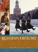 Complete 4 Volume Set: Macmillan Encyclopedia of Russian History - James Millar