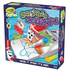 Vivid Imaginations 93126 Guess it before it's gone! Scribble Scramble Board Game