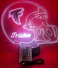 Atlanta Falcons NFL Football Light Up Lamp LED With Remote and Personalized Free