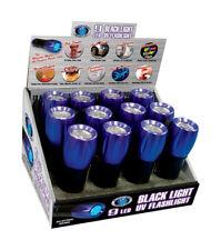 Blacklight Master  Black/Purple  LED  UV Flashlight  AAA Battery