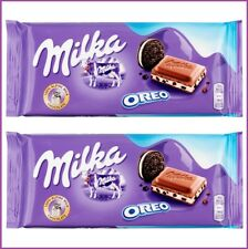 GENUINE MILKA OREO 100g Chocolate Bar TWIN PACK LOWEST PRICE