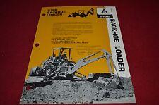 Allis Chalmers Industrial 816B Backhoe Loader Dealer's Brochure YABE8