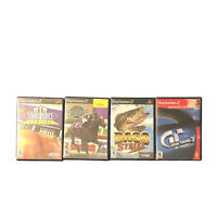 Lot 4 Sony PlayStation 2 Games Gran Turismo 3 Bass Strike Force Bowling Complete