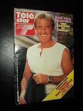 TELESTAR 0460 (22/7/85) JEAN-PAUL BELMONDO DAVID BOWIE FANNY COTTENCON M. JAGGER