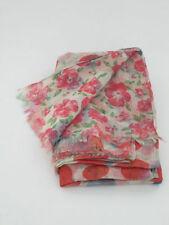 Écharpes et châles rose à motif Floral polyester pour femme