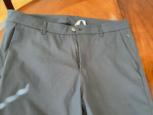 Lululemon Men's Commission ABC  Pants Size 36x31 Gray LM5439S