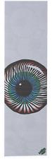 """MOB Eye See You White Skateboard Grip Tape 9"""" x 33"""""""