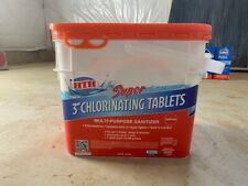 HTH Super 3 Inch Chlorinating Tablets 4 in 1 Pool Chemicals 25lbs FREE SHIPPING