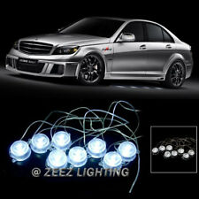 Brabus Style 40-Led Undercar Puddle Light Underglow Ground Effect Kit White C97(Fits: Neon)