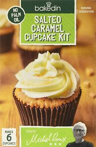 Salted Caramel Cupcake Home Baking Kit Bakedin Easy Fun Home Made Kids Adults