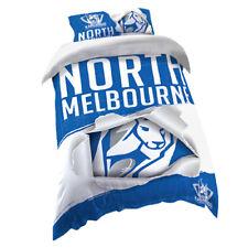 North Melbourne Kangaroos AFL SINGLE Bed Quilt Doona Duvet Cover Set *NEW 2018