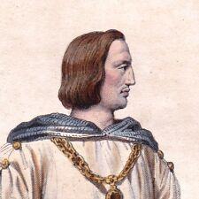 Philippe Auguste Capétiens Roi Francs Troisième Croisade St Jean d'Acre Bouvines