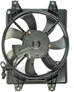 FITS 2000-2003 HYUNDAI ACCENT 1.5L MANUAL TRANSMISSION A/C CONDENSER COOLING FAN