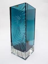 RARE 4kg Nanny ancora LUCULLUS glass vase riihimaen LASI riihimaki 1967-68 solo