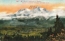 Postcard Dawn Mount Shasta California