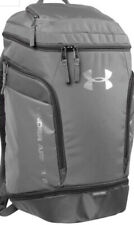 Under Armour Striker Team Backpack Graphite Gray Unisex One Size NEW