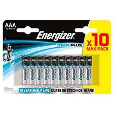Energizer Max Plus AA Alkaline Batteries Longest Lasting Battery Pack of 10