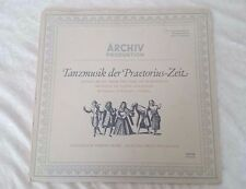 Tanzmusik Der Praetorius-Zeit – Archiv Produktion Record 24 hour Shipping!