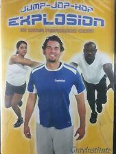 Jump Jop Hop Explosion 3D Matrix Performance Series DVD Workout Gray Institute