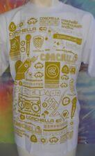 Coachella Music White's Men's T-Shirt Size Large